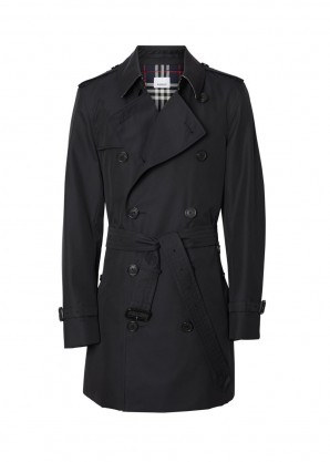 Burberry The short chelsea trench coat