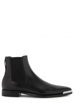 Givenchy Dallas black leather Chelsea boots