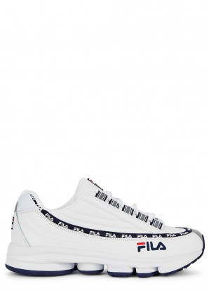 Fila Dragster 98 white leather sneakers