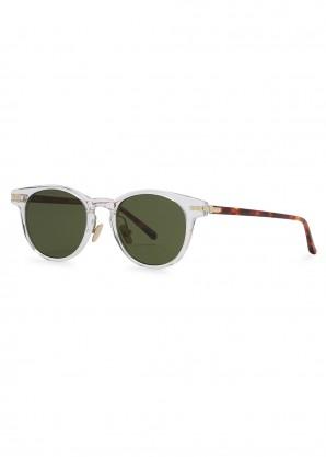 25 C7 transparent D-frame sunglasses