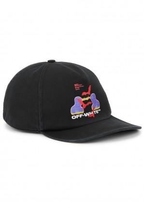 Off-White Thermo Men black twill cap