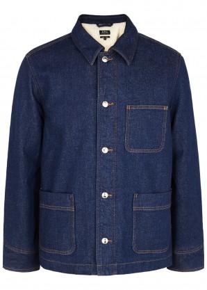 A.P.C. Blue denim jacket