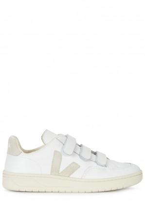 Veja V-Lock white leather sneakers