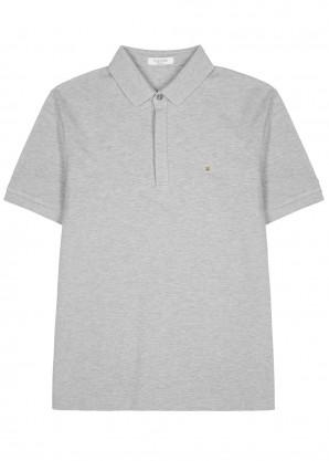 Valentino Rockstud Untitled piqué cotton polo shirt