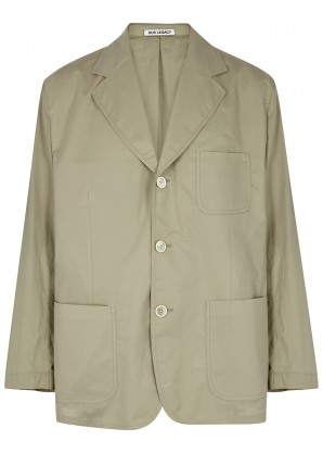 Our Legacy Club olive cotton jacket