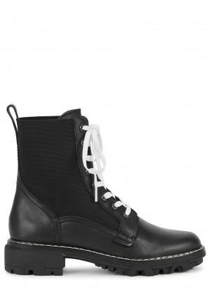 Shiloh 40 black leather boots