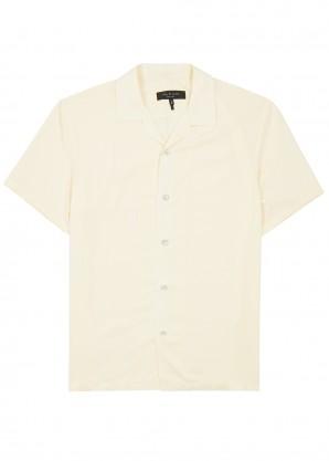 rag & bone Avery ivory twill shirt