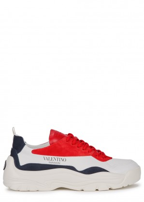 Valentino Garavani Gumboy white leather sneakers