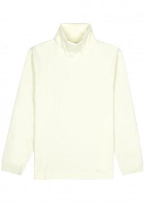 Zyron roll-neck cotton-blend sweatshirt