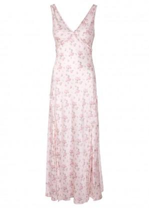 LoveShackFancy Kendall floral-print silk maxi dress