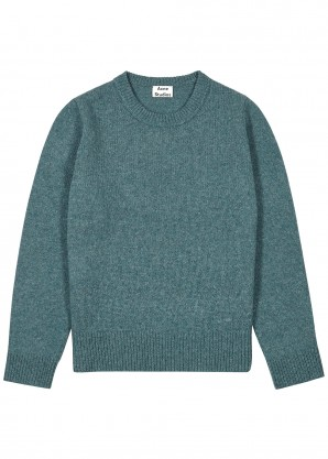 Kai blue wool jumper