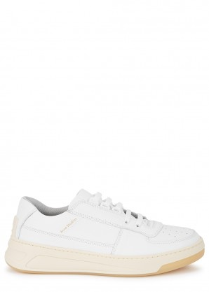 Acne Studios Steffey white leather sneakers