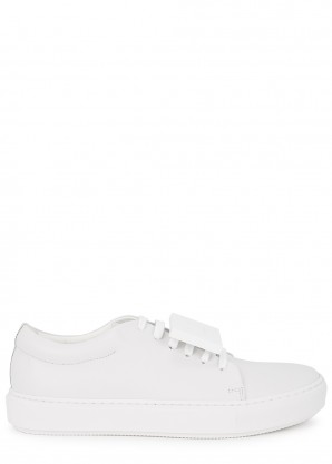 Acne Studios Adriana off-white leather sneakers