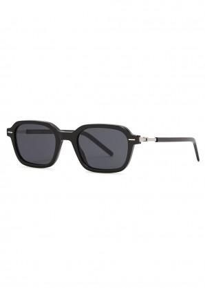 Dior Technicity 1 black rectangle-frame sunglasses