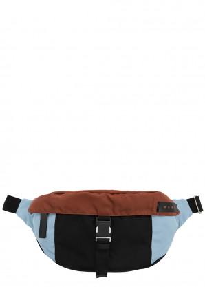 Marni Blue nylon belt bag