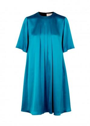 Roksanda Ada blue silk dress