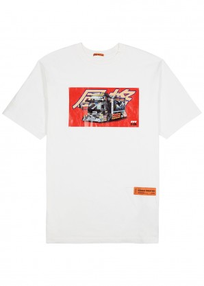 Heron Preston Dekotora printed cotton T-shirt
