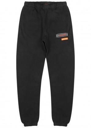 Heron Preston Uniform black cotton sweatpants