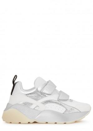 Stella McCartney Eclypse panelled faux leather sneakers