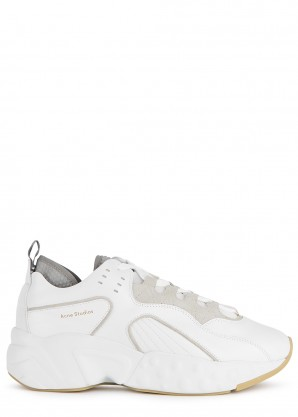 Acne Studios Rockaway white leather sneakers