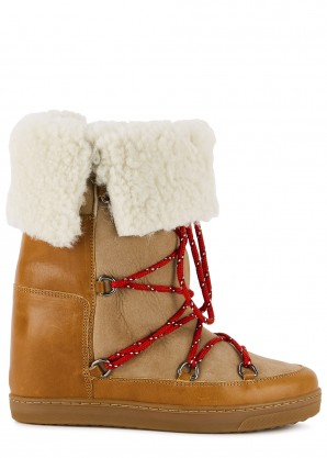 Isabel Marant Nowly brown suede ankle boots
