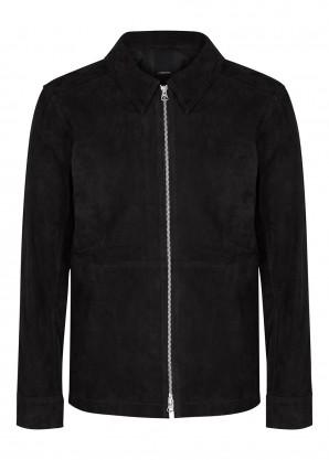 J.Lindeberg Jonah black suede jacket