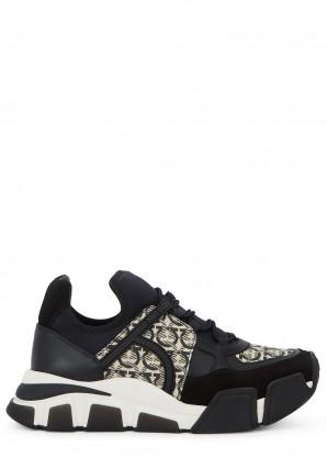 Cimbra Gancini panelled sneakers