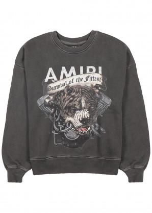 Amiri Printed cotton sweatshirt