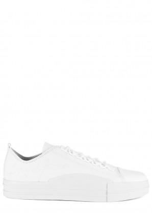 Y-3 Yuben white canvas sneakers