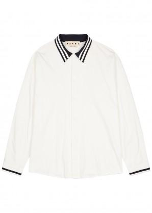 Marni Off-white cotton shirt