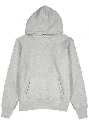 Les Tien Light grey cotton-jersey sweatshirt