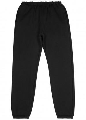 Les Tien Black cotton-jersey sweatpants
