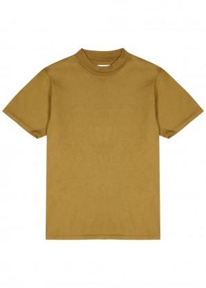 Les Tien Olive cotton T-shirt
