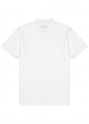 Les Tien White cotton T-shirt