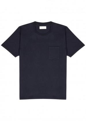 Les Tien Navy cotton T-shirt