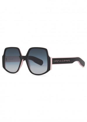 DiorInsideOut1 oversized sunglasses