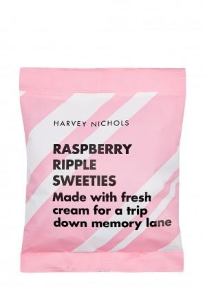 Harvey Nichols Raspberry Ripple Sweeties 200g