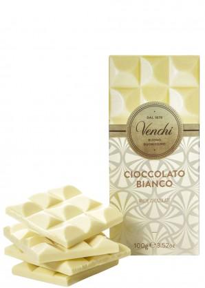 Venchi White Chocolate Bar 100g