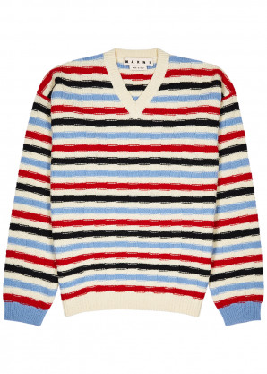 Marni Striped wool jumper