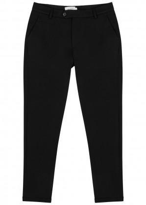 Les Deux Como black slim-leg trousers