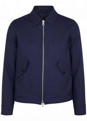 J.Lindeberg Dolph navy wool-twill jacket