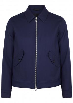 J.Lindeberg Dolph navy wool-twill jacket