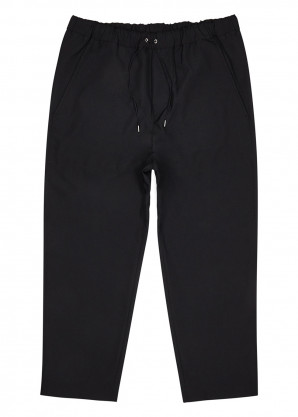 OAMC Black cropped tapered trousers
