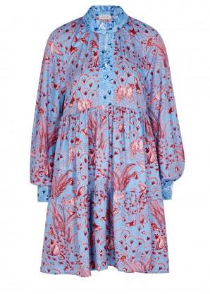 Stine Goya Jasmine printed satin mini dress