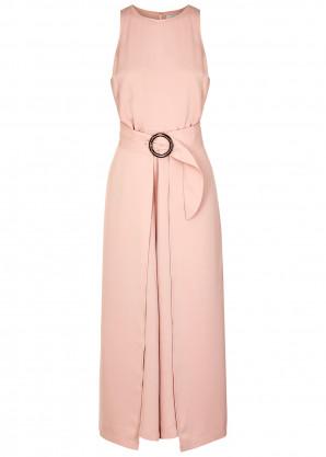 Joie Mairead pink crepe de chine jumpsuit