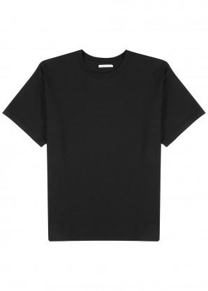 John Elliott University black cotton T-shirt