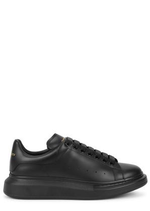 Alexander McQueen Larry black leather sneakers