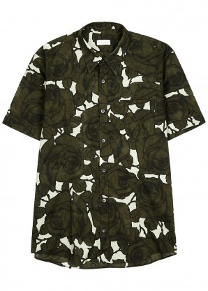 Dries Van Noten Claridge printed cotton shirt
