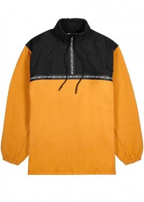 McQ Alexander McQueen Orange logo cotton sweatshirt