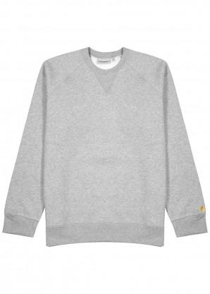 Carhartt WIP Chase grey jersey sweatshirt